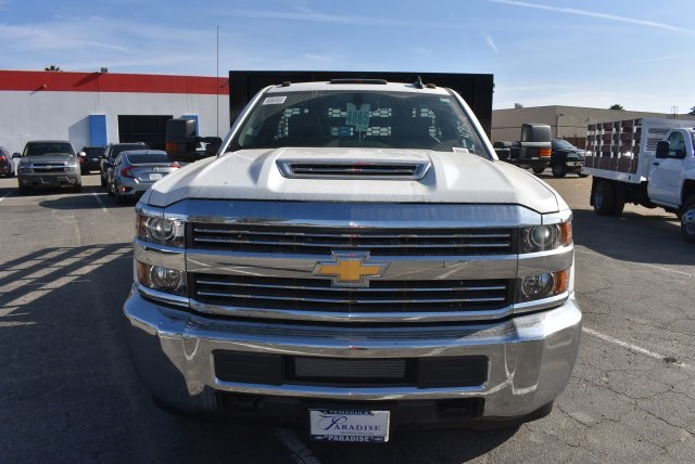 2017 Silverado 3500 Regular Cab DRW, Knapheide Flat/Stake Bed #M171126 - photo 4