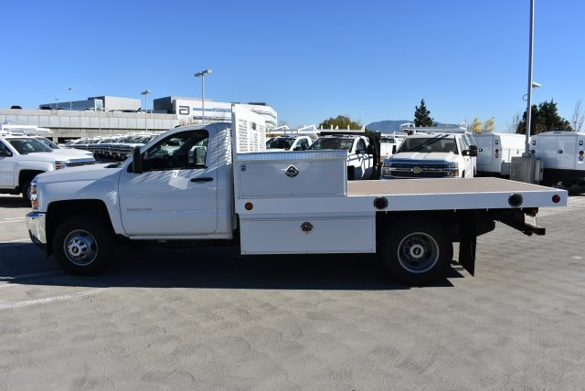 2017 Silverado 3500 Regular Cab DRW 4x2,  Royal Platform Body #M171142 - photo 5