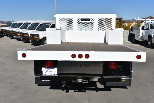 2017 Silverado 3500 Regular Cab DRW, Royal Platform Body #M171142 - photo 7