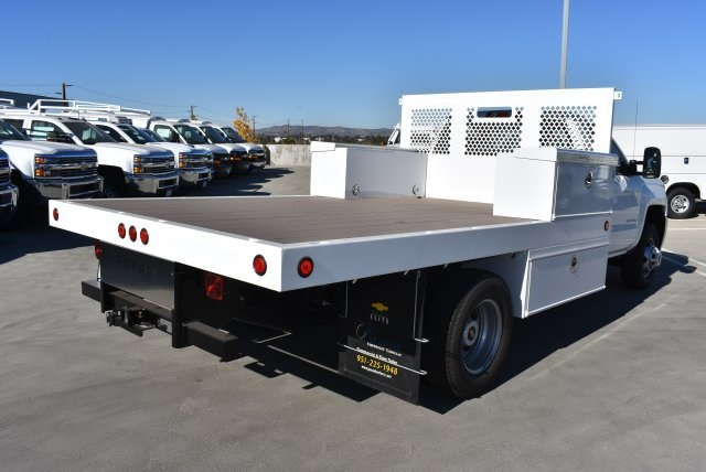 2017 Silverado 3500 Regular Cab DRW 4x2,  Royal Platform Body #M171142 - photo 2