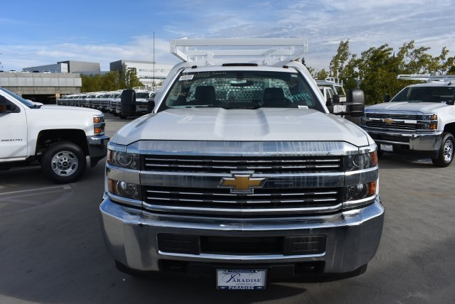 2017 Silverado 3500 Regular Cab DRW, Royal Contractor Bodies Contractor Body #M171143 - photo 3