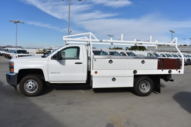 2017 Silverado 3500 Regular Cab DRW, Royal Contractor Bodies Contractor Body #M171143 - photo 5