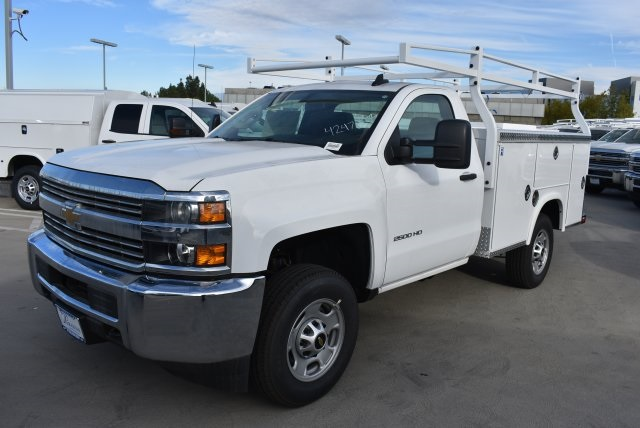 2017 Silverado 2500 Regular Cab, Royal Utility #M171148 - photo 4