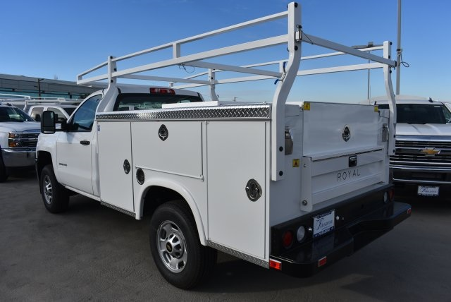2017 Silverado 2500 Regular Cab, Royal Utility #M171148 - photo 6