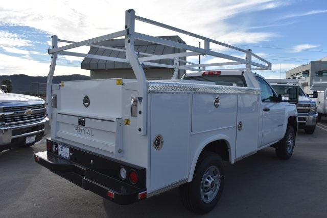 2017 Silverado 2500 Regular Cab, Royal Utility #M171148 - photo 2