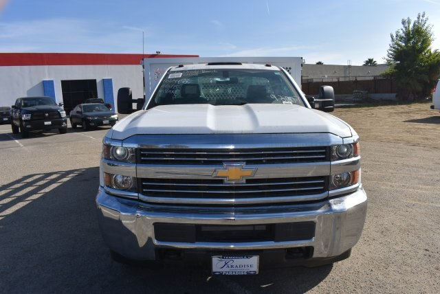 2017 Silverado 3500 Regular Cab DRW,  Royal Flat/Stake Bed #M171153 - photo 4