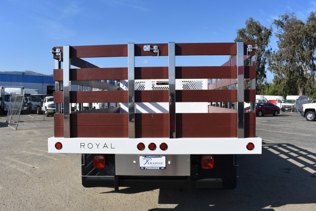 2017 Silverado 3500 Regular Cab DRW,  Royal Flat/Stake Bed #M171153 - photo 8
