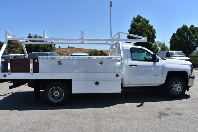 2017 Silverado 3500 Regular Cab DRW,  Royal Contractor Body #M171157 - photo 8