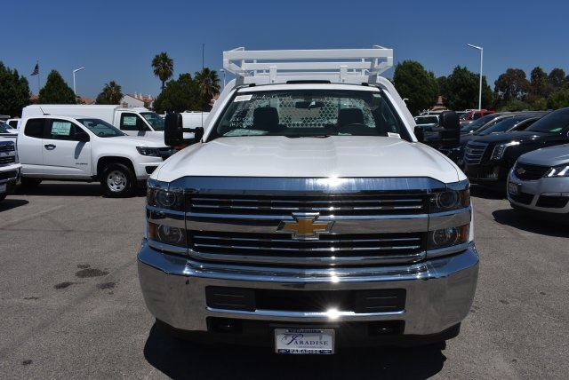 2017 Silverado 3500 Regular Cab DRW,  Royal Contractor Body #M171157 - photo 3