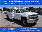2017 Silverado 3500 Regular Cab DRW,  Royal Contractor Body #M171157 - photo 1
