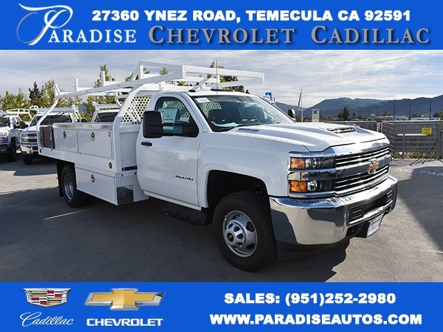 2017 Silverado 3500 Regular Cab DRW, Royal Contractor Bodies Contractor Body #M171161 - photo 1
