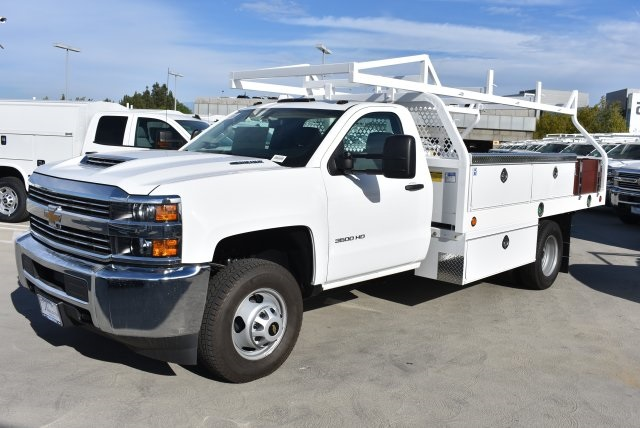 2017 Silverado 3500 Regular Cab DRW, Royal Contractor Bodies Contractor Body #M171161 - photo 5