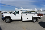 2017 Silverado 3500 Regular Cab DRW, Royal Contractor Bodies Contractor Body #M171161 - photo 6