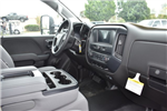 2017 Silverado 3500 Regular Cab, Harbor Black Boss Stakebed Flat/Stake Bed #M171182 - photo 10