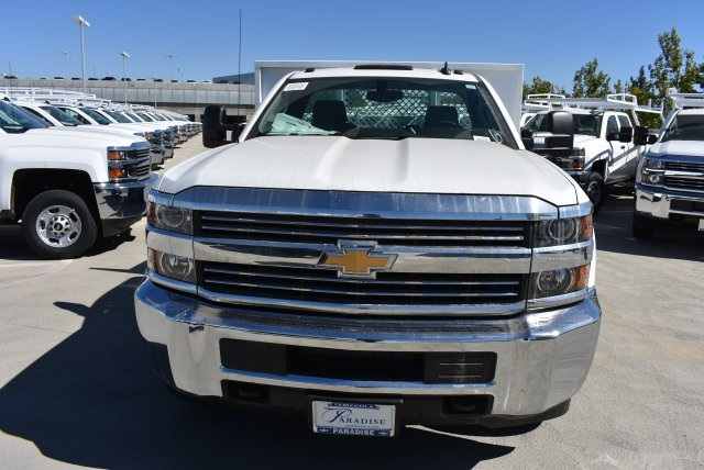 2017 Silverado 3500 Regular Cab DRW, Harbor Platform Body #M171215 - photo 4
