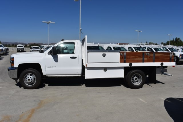 2017 Silverado 3500 Regular Cab DRW, Harbor Platform Body #M171215 - photo 6