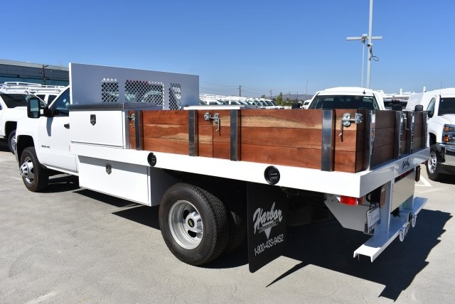 2017 Silverado 3500 Regular Cab DRW, Harbor Platform Body #M171215 - photo 7