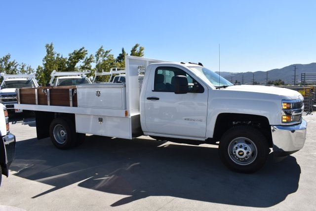 2017 Silverado 3500 Regular Cab DRW, Harbor Platform Body #M171215 - photo 9