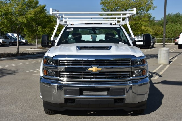 2017 Silverado 3500 Regular Cab DRW 4x4,  Harbor Combo Body #M171257 - photo 4