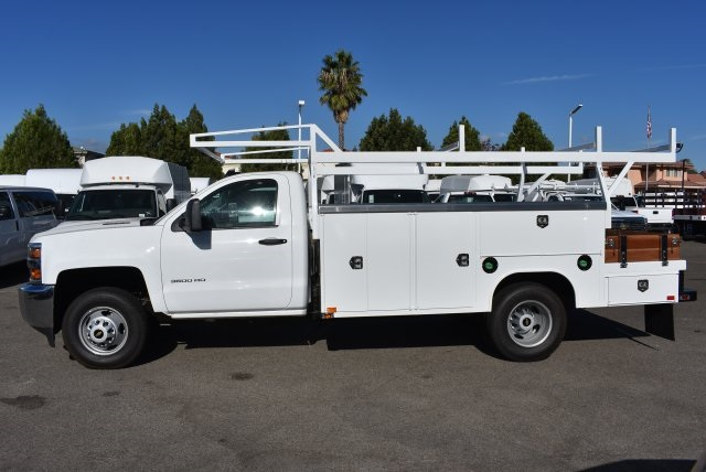 2017 Silverado 3500 Regular Cab DRW 4x4,  Harbor Combo Body #M171257 - photo 6