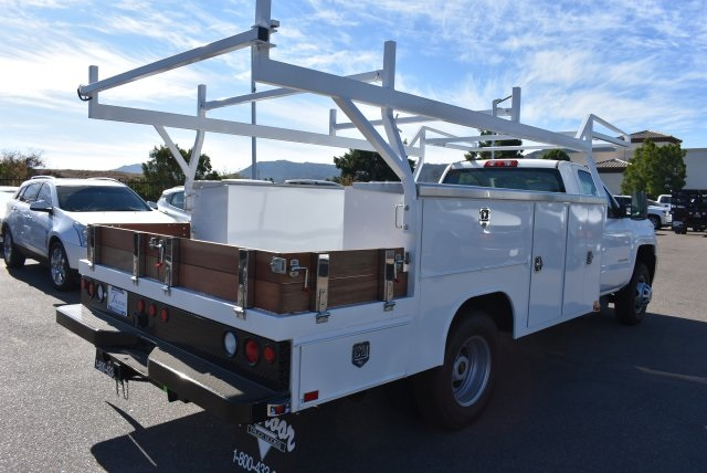 2017 Silverado 3500 Regular Cab DRW 4x4,  Harbor Combo Body #M171257 - photo 2