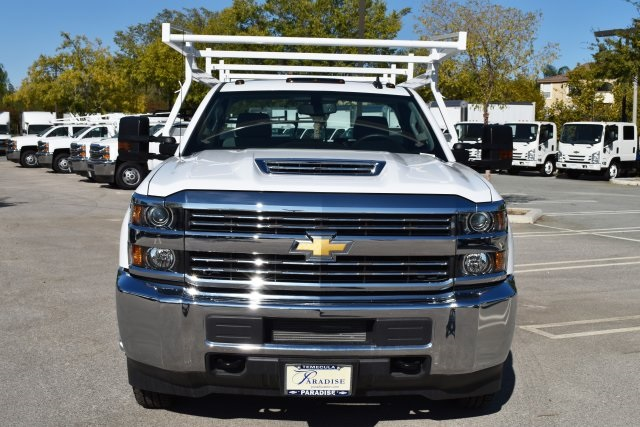 2017 Silverado 3500 Regular Cab DRW, Knapheide Contractor Bodies Contractor Body #M171258 - photo 4