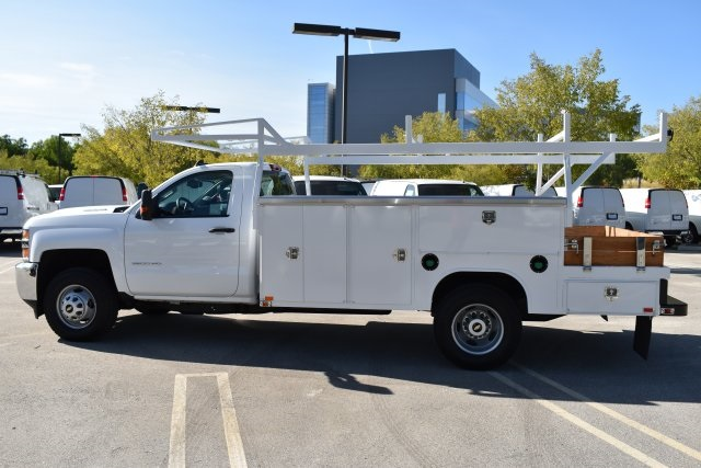 2017 Silverado 3500 Regular Cab DRW 4x2,  Knapheide Contractor Body #M171258 - photo 6