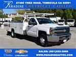 2017 Silverado 3500 Regular Cab DRW, Knapheide Contractor Bodies Contractor Body #M171258 - photo 1