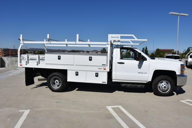 2017 Silverado 3500 Regular Cab DRW 4x2,  Knapheide Contractor Body #M171298 - photo 8
