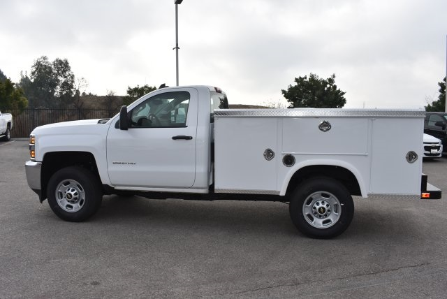 2017 Silverado 2500 Regular Cab 4x2,  Royal Service Body Utility #M171355 - photo 6