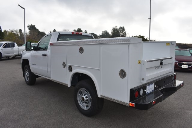 2017 Silverado 2500 Regular Cab 4x2,  Royal Service Body Utility #M171355 - photo 7