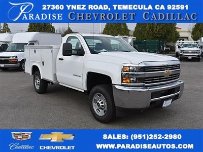 2017 Silverado 2500 Regular Cab 4x2,  Royal Service Body Utility #M171355 - photo 1