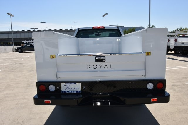 2017 Silverado 2500 Regular Cab, Royal Utility #M171356 - photo 2