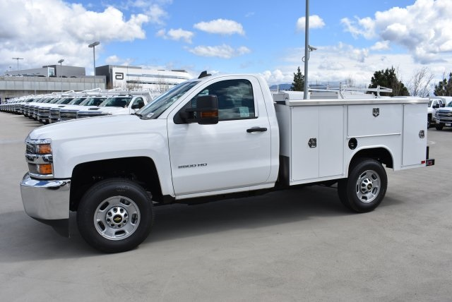 2017 Silverado 2500 Regular Cab 4x2,  Royal Service Body Utility #M171364 - photo 6