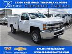 2017 Silverado 2500 Regular Cab 4x2,  Royal Service Body Utility #M171364 - photo 1