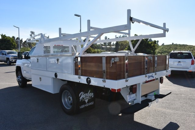 2017 Silverado 3500 Regular Cab DRW, Harbor Contractor Body #M171373 - photo 7