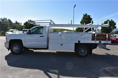 2017 Silverado 3500 Regular Cab DRW, Harbor Standard Contractor Contractor Body #M171373 - photo 6