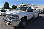 2017 Silverado 3500 Regular Cab DRW, Harbor Standard Contractor Contractor Body #M171373 - photo 5