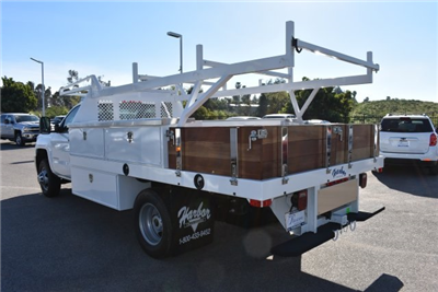 2017 Silverado 3500 Regular Cab DRW,  Harbor Standard Contractor Contractor Body #M171379 - photo 7