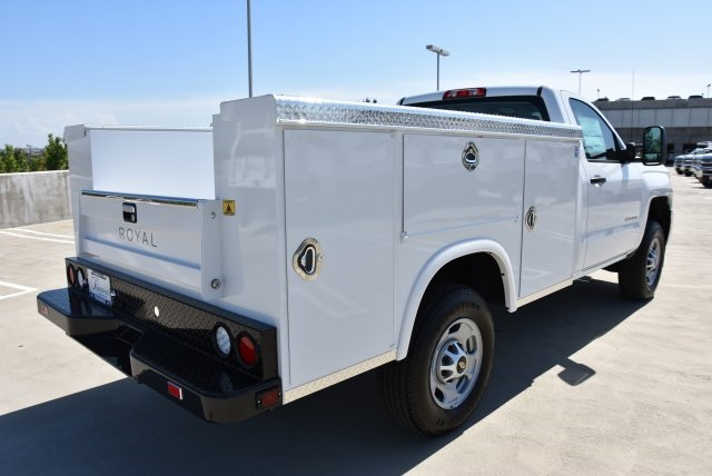 2017 Silverado 2500 Regular Cab 4x2,  Royal Service Bodies Utility #M171383 - photo 2