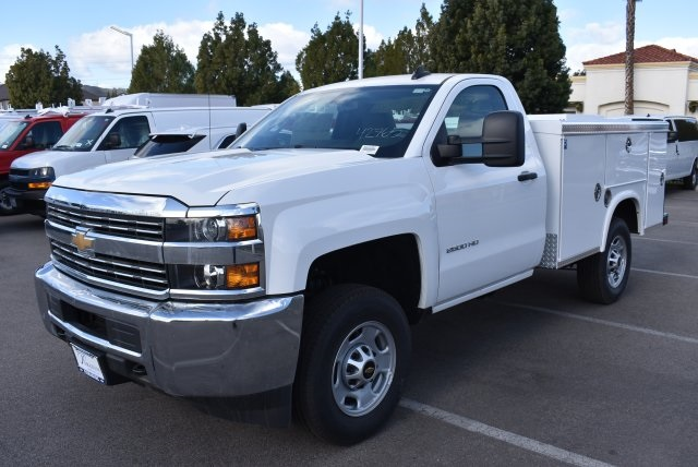 2017 Silverado 2500 Regular Cab 4x2,  Royal Service Bodies Utility #M171387 - photo 5