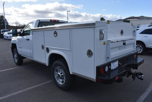 2017 Silverado 2500 Regular Cab 4x2,  Royal Service Bodies Utility #M171387 - photo 7