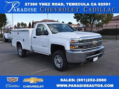 2017 Silverado 2500 Regular Cab 4x2,  Royal Service Bodies Utility #M171387 - photo 1