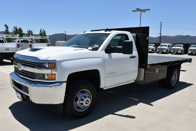 2017 Silverado 3500 Regular Cab DRW, Harbor Platform Body #M171456 - photo 5