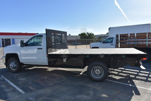 2017 Silverado 3500 Regular Cab DRW, Harbor Platform Body #M171456 - photo 6