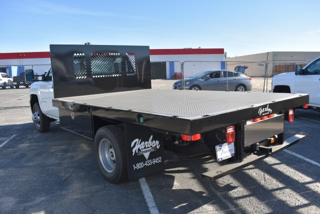 2017 Silverado 3500 Regular Cab DRW, Harbor Platform Body #M171456 - photo 7