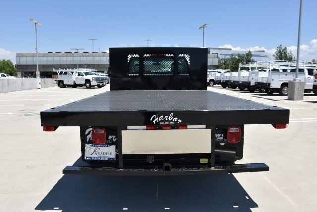 2017 Silverado 3500 Regular Cab DRW, Harbor Platform Body #M171456 - photo 8