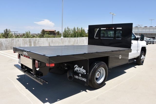 2017 Silverado 3500 Regular Cab DRW, Harbor Platform Body #M171456 - photo 2