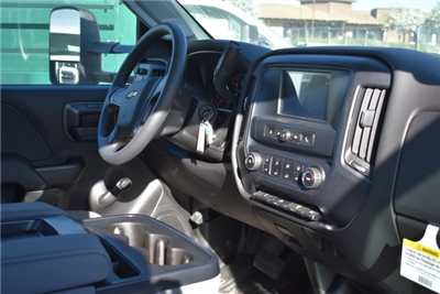 2017 Silverado 3500 Regular Cab DRW 4x2,  Harbor Black Boss Platform Body #M171456 - photo 11
