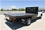 2017 Silverado 3500 Regular Cab DRW 4x2,  Harbor Black Boss Platform Body #M171456 - photo 2